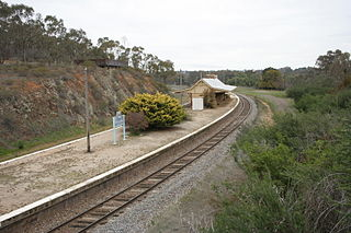 Main Southern railway line, New South Wales railway line in New South Wales, Australia