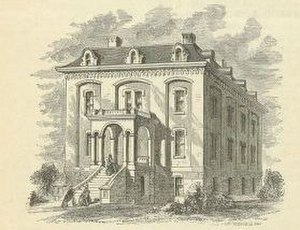 New England Female Medical College - New England Female Medical College in 1860