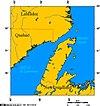 100px newfoundland and labrador map