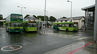 Newport bus station (Isle of Wight) - Image: Newport bus station