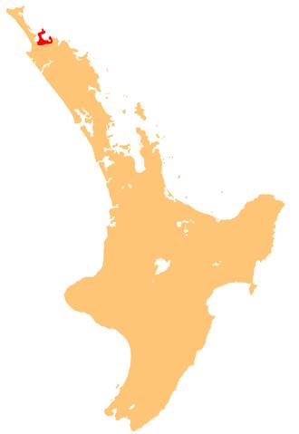 Ngāti Kahu - Image: Ngatikahu iwi location