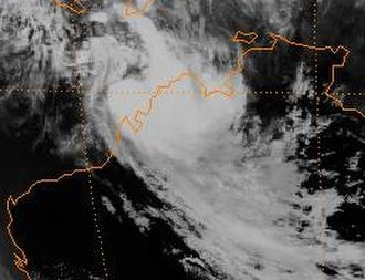 1996–97 Australian region cyclone season - Image: Nicholas 96
