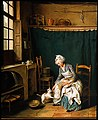 Nicolas Bernard Lépicié - Servant Girl Plucking a Chicken - 65.2650 - Museum of Fine Arts.jpg