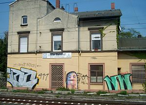 Bahnhof Niederrad
