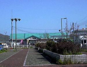 Nigata Station - Nigata Sanbashi at Nigata Station (April 22, 2005).