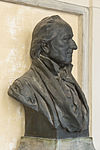 Nikolaus Joseph Freiherr von Jacquin (Nr. 35) Bust in the Arkadenhof, University of Vienna -2173.jpg
