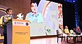 "Nitin Gadkari addressing at a Cultural Evening of 50th Foundation Day Celebration of WAPCOS - ""Experience, Expertise- Excellence"", in New Delhi (1).JPG"