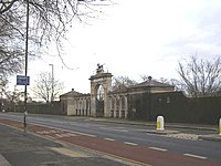 No-longer used entrance to Syon Park, Brentford - geograph.org.uk - 1123299.jpg