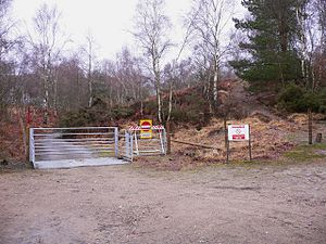 Bordon and Longmoor Military Camps - No entry to training grounds at Longmoor camp