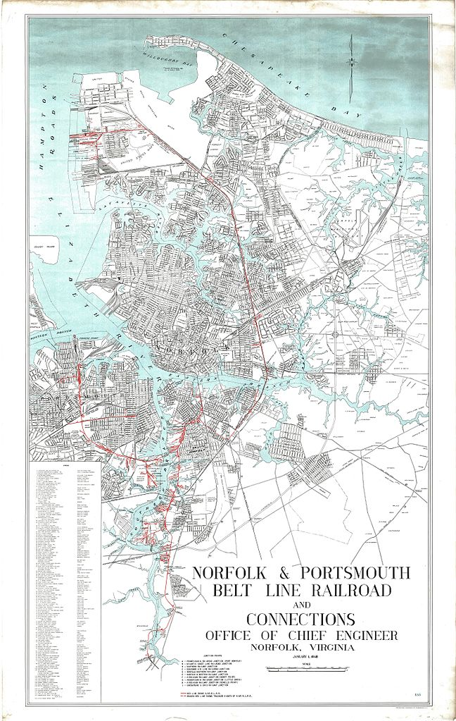 FileNorfolk and Portsmouth Belt Line Railroad map 1947jpg