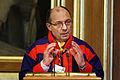 Norges samertingspraesident Egil Olli ved Nordisk Rads sesson i Oslo. 2007-10-30. Foto- Magnus Froderberg.jpg