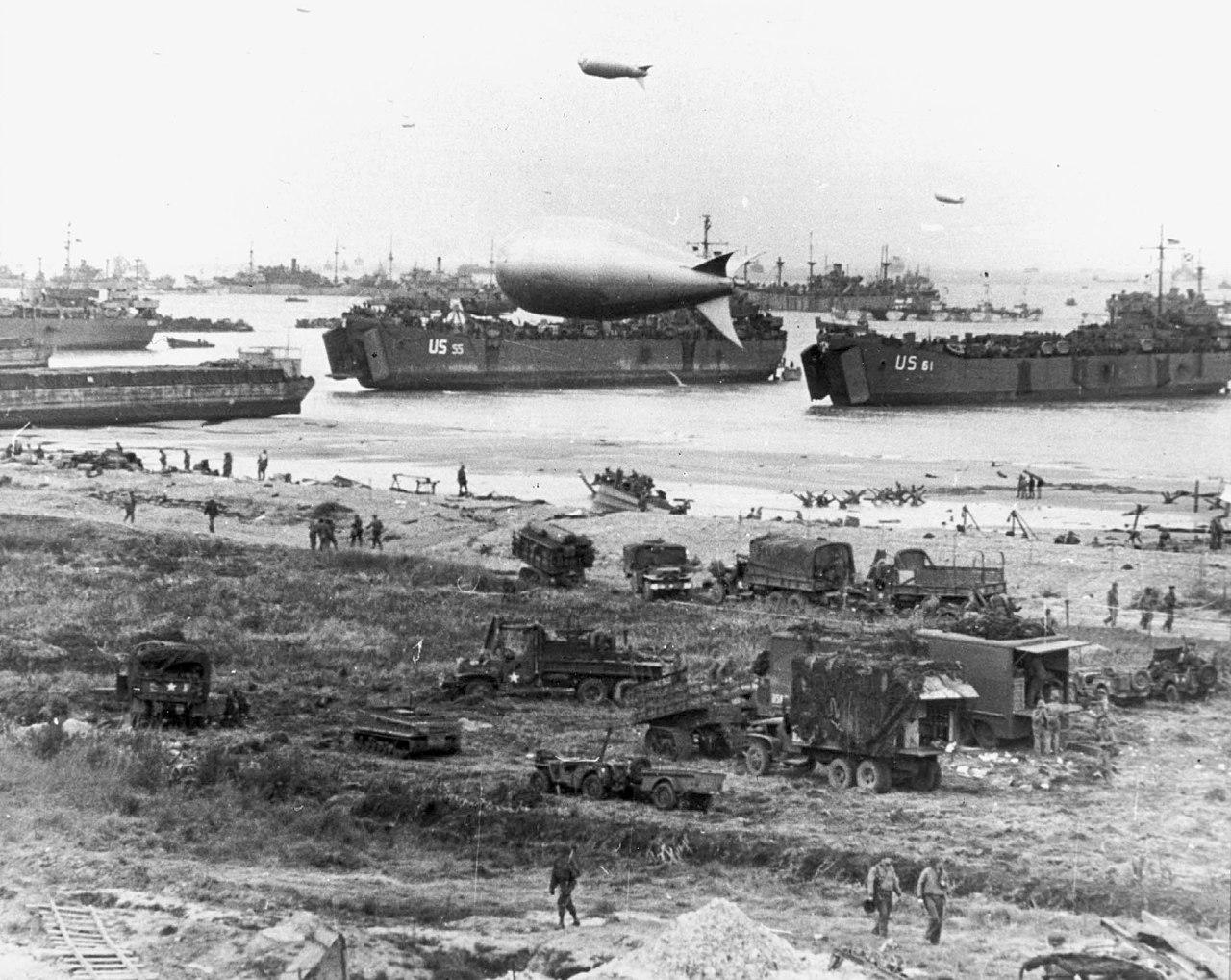 诺曼底登陆(D-day) - wuwei1101 - 西花社