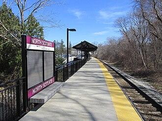Greenbush Line - North Scituate station