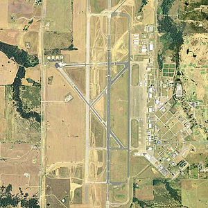 North Texas Regional Airport - USGS 1999 orthophoto