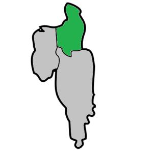 North Tripura district - Image: North Tripura Subdivisions Dharmanagar