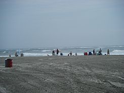North Wildwood beach at 3rd Avenue 2.JPG
