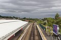 North from the footbridge at Rock Ferry station.jpg