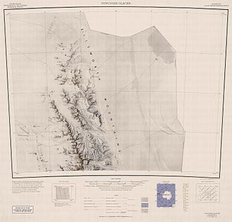 Ellsworth Mountains - Image: Northern Sentinel Map
