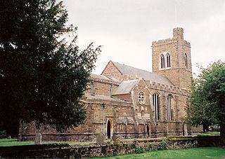 Northill farm village in the United Kingdom