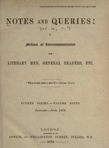 Notes and Queries - Series 4 - Volume 9.djvu
