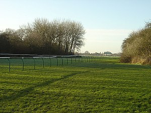 Nottingham Racecourse - The view from the outer straight start