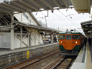 Numazu Station - The platforms