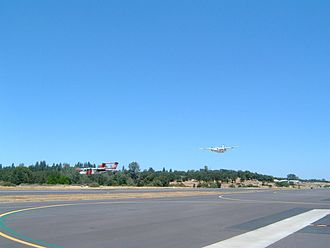 Columbia Airport (California) - Image: O22 Flyby