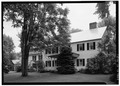 OBLIQUE VIEW OF SOUTH FRONT, TAKEN FROM SOUTHEAST - General William Floyd House, Westernville, Rome, Oneida County, NY HABS NY,33-WESV,1-1.tif