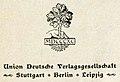 "Oak tree in 1890 art detail, ""MDCCCXC"" ""Union Deutsche Verlagsgesellschaft"" ""Stuttgart * Berlin * Leipzig"", from- Der Arrapahu (Kamerad-Bibliothek) (page 4 crop).jpg"