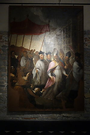 Giovanni Raffaele Badaracco - Obsequies of St. Stephen, by Badaracco, undated