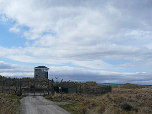 RAF Tain - Observation tower at RAF Tain
