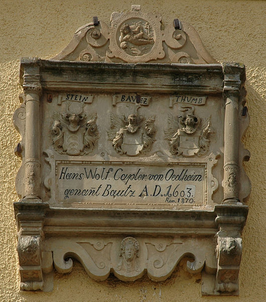 File:Oedheim Willenbach Wappenstein 20080412.jpg