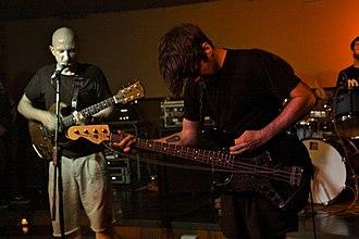 Screamo - Screamo band Off Minor performing, June 2008.