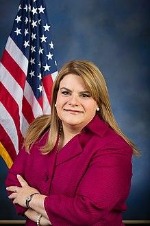 Official portrait of Resident Commissioner Jenniffer Gonzalez