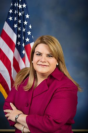 Jenniffer González - Image: Official portrait of Resident Commissioner Jenniffer Gonzalez