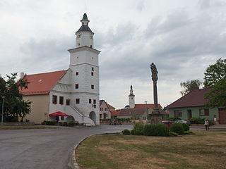 Olbramovice (Znojmo District) Městys in South Moravian, Czech Republic