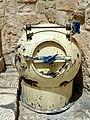 Old Jerusalem Holy Sepulchre parvis demining device.jpg