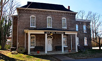 National Register of Historic Places listings in Lawrence County, Tennessee - Image: Old Lawrence County Jail