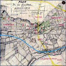 Old Los Angeles overlay labeled