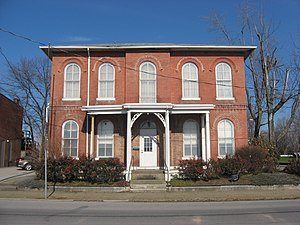 Old Warrick County Jail, a historic place in Boonville