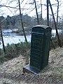 Old phone box, Edgelaw Reservoir - geograph.org.uk - 711104.jpg