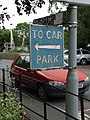Old sign near Sherborne Railway Station - geograph.org.uk - 2016038.jpg
