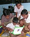 Older children Khairat OLPC.JPG