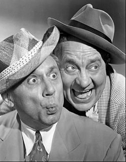 Olsen and Johnson American comedy duo