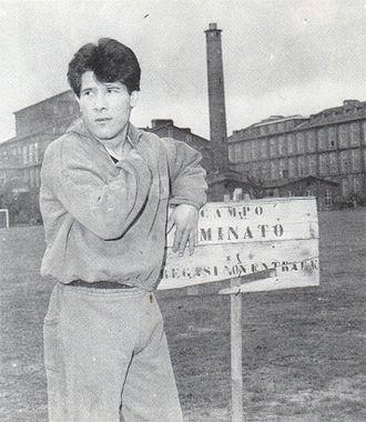 Omar Sívori - Sívori in training during his years in Turin