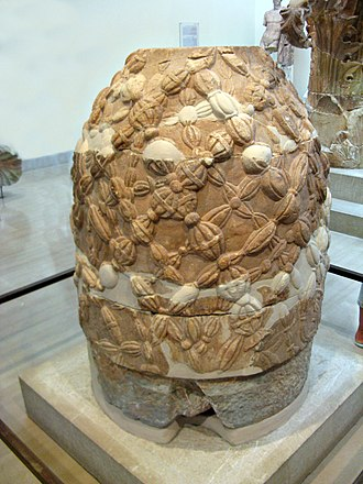 Pythia - The omphalos in the museum of Delphi
