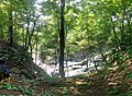 On a blue trail - Above the waterfalls - panoramio.jpg