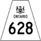 Highway 628 shield