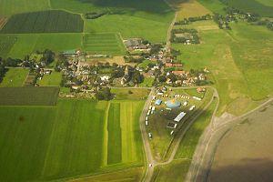 Wieringen - Aerial photograph of Oosterland