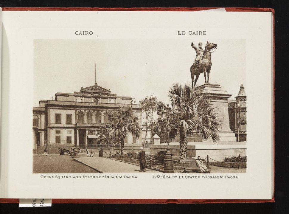 Opera Square and Statue of Ibrahim Pagha (n.d.) - front - TIMEA